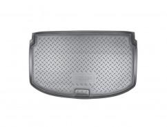 Резиновый коврик в багажник Chevrolet Aveo НВ (11-)