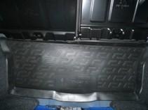 Коврик в багажик Peugeot 107 hb (05-)