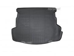 NorPlast Резиновый коврик в багажник Faw Besturn B50 SD (12-)