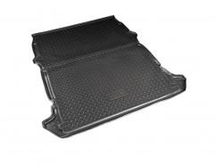 Резиновый коврик в багажник Fiat Doblo Cargo (01-)