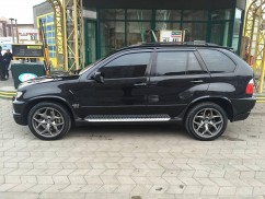 Ветровики BMW X5 (E53) 2000-2006  Cobra Tuning