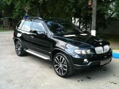 Ветровики BMW X5 (E70) 2007-2013  Cobra Tuning