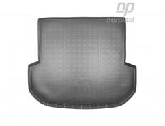 NorPlast Резиновый коврик в багажник Kia Sorento (15-) (5 мест)