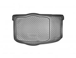 NorPlast Резиновый коврик в багажник Kia Soul (AM) (08-13) (без организайн)