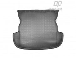 Резиновый коврик в багажник Mitsubishi Outlander (12-) (без органайз,)