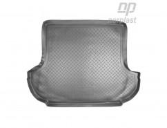 NorPlast Резиновый коврик в багажник Mitsubishi Outlander XL (06-12)
