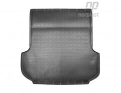Резиновый коврик в багажник Mitsubishi Pajero Sport III (15-)
