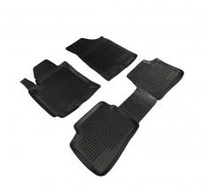 Petroplast Резиновые коврики в салон Kia Ceed 2007-2009/Hyundai i30 2007-, комплект 4шт