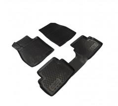 Petroplast Резиновые коврики в салон Mazda 3 2013- (3D), комплект 4шт