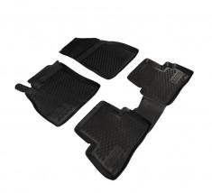 Petroplast Резиновые коврики в салон Nissan Juke 2010-, комплект 4шт