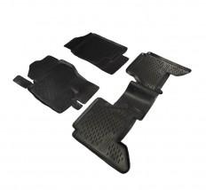 Petroplast Резиновые коврики в салон Nissan Pathfinder 2004-2014, комплект 4шт
