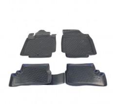 Petroplast Резиновые коврики в салон Seat Toledo, комплект 4шт