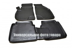 Petroplast Резиновые коврики в салон Skoda Rapid (3D)