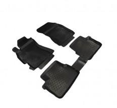 Petroplast Резиновые коврики в салон Subaru Forester 2008-2012, комплект 4шт