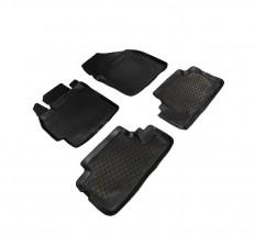 Petroplast Резиновые коврики в салон Toyota Auris 2006-2012, комплект 4шт