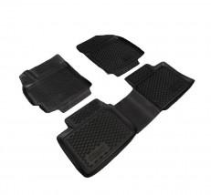Petroplast Резиновые коврики в салон Toyota Corolla 2013- (3D), комплект 4шт