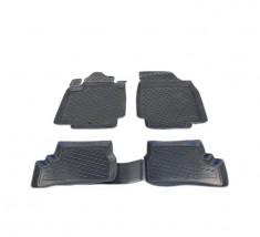 Petroplast Резиновые коврики в салон Volkswagen Golf VII (3D) 2012-, комплект 4шт