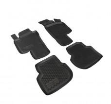 Petroplast Резиновые коврики в салон Volkswagen Jetta 2011-, комплект 4шт