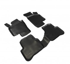 Petroplast Резиновые коврики в салон Volkswagen Passat В6, В7, комплект 4шт