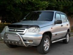 Can Otomotiv Кенгурятник (защита бампера) Chevrolet Niva (2002-)