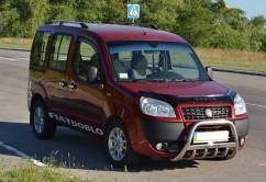 Can Otomotiv Кенгурятник (защита бампера) Fiat Doblo (2000-2010)
