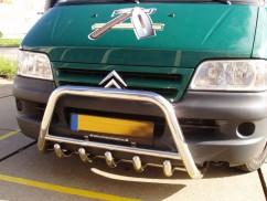 Can Otomotiv Кенгурятник (защита бампера) Fiat Ducato (2001-2006)