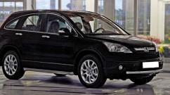 Can Otomotiv Кенгурятник (защита бампера) Honda CRV (2007-2012) /ус одинарный