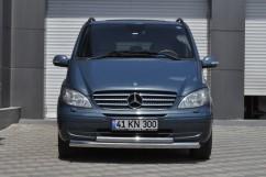 Can Otomotiv Кенгурятник (защита бампера) Mercedes Vito (2003-2010) /ус двойной