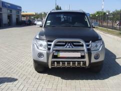 Кенгурятник (защита бампера) Mitsubishi Pajero Wagon (2006-)/ высокий