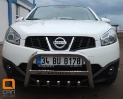 Can Otomotiv Кенгурятник (защита бампера) Nissan Qashqai (2009-2014)