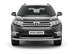 Can Otomotiv Кенгурятник (защита бампера) Toyota Highlander (2008-2014) /ус одинарный