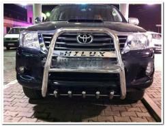 Can Otomotiv Кенгурятник (защита бампера) Toyota Hilux (2006-2015) /высокий