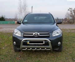 Can Otomotiv Кенгурятник (защита бампера) Toyota Rav4 (2006-2010)
