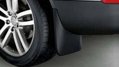 Оригинал Брызговики оригинальные Audi Q7 (15-) / оригинальные задние,   2 шт