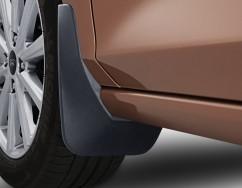 Брызговики оригинальные Ford Fiesta 2017- передние, кт 2шт