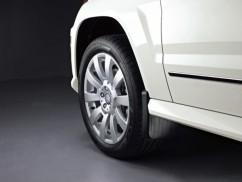 Оригинал Брызговики оригинальные Mercedes-Benz GLK 300 (08-11) / передние,   2 шт