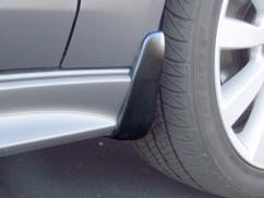 Оригинал Брызговики оригинальные Mitsubishi Lancer X широк порог 2007- передние,   2шт