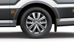 Оригинал Брызговики оригинальные Volkswagen Crafter 2017- задние, кт 2шт