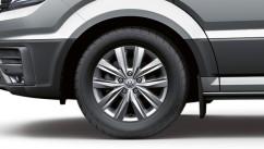 Оригинал Брызговики оригинальные Volkswagen Crafter 2017- передние. 2 шт