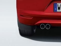 Оригинал Брызговики оригинальные Volkswagen Scirocco 2008-2014, задние 2шт