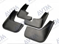 AVTM Брызговики  Citroen C-Elysee 2012- (полный комплект  4-шт)