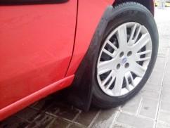 AVTM Брызговики  Fiat Doblo 01- (передние -2шт)