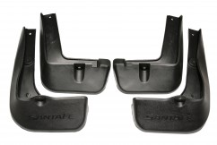 AVTM Брызговики  Hyundai Santa Fe 2012- (полный комплект  4-шт)