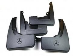 AVTM Брызговики  Mercedes-Benz GL164 (с порогами) 2006-2012 (полный комплект  4-шт)