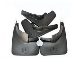 AVTM Брызговики  Mercedes-Benz ML164 (с порогами) 2005-2012 (полный комплект  4-шт)