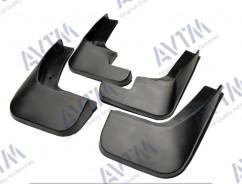 AVTM Брызговики  Peugeot 301 2012- (полный комплект  4-шт)