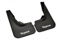 AVTM Брызговики  Peugeot Partner Tepee 08- (передние комплект -2шт)