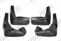 AVTM Брызговики  Renault Latitude 2010 - (полный комплект  4-шт)