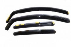Дефлекторы окон (ветровики) Fiat 500 3D 2007-> / вставные, 2шт/