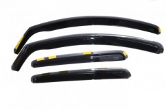 Дефлекторы окон (ветровики) Nissan X-Trail III (T32) 5D 2013R / вставные, 4шт/